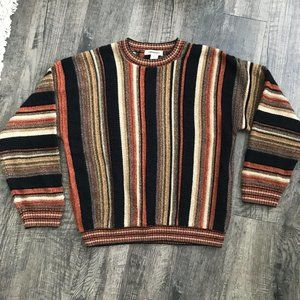 Pronto Uomo Vintage 90s Grandpa Sweater Large